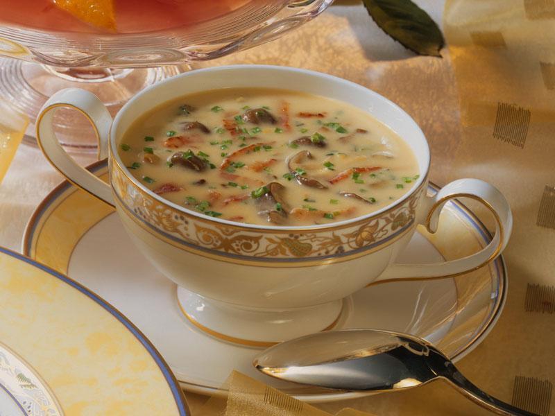 diyet mantar çorbası