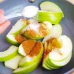 diyet tarçınlı elma tatlısı