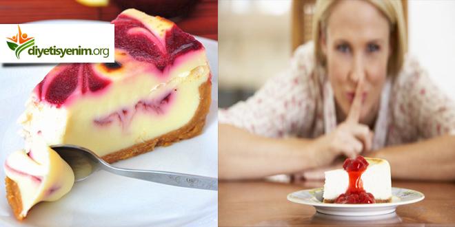 Diyet Cheesecake tarifi