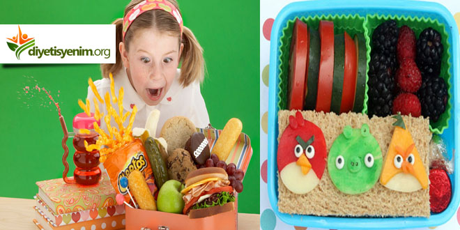 çocuklar için beslenme çantası tarifleri