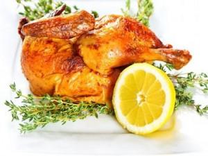 Diyet fırında tavuk