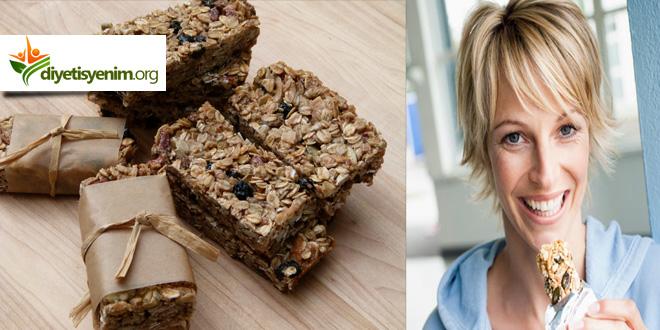 diyet granola tarifi