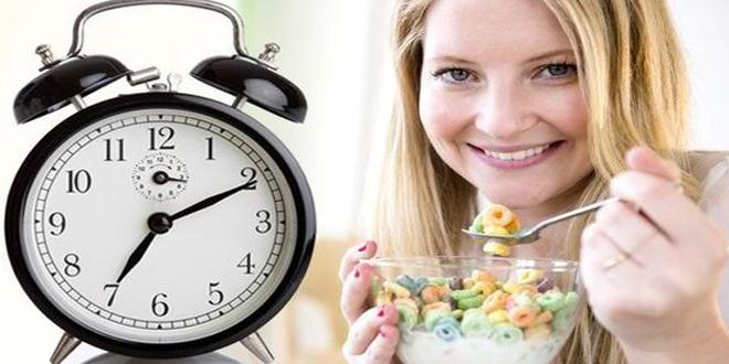 diyet zamanı