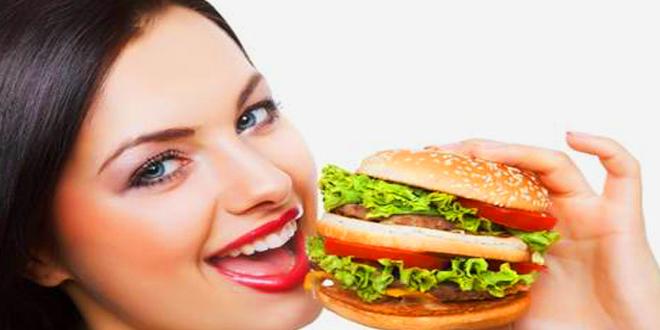 diyet hamburger
